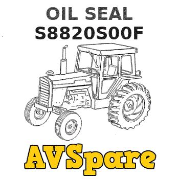 OIL SEAL S8820S00F - New