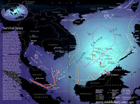Territorial Claims – Maps | The South China Sea