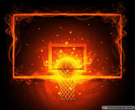 Basketball Game with Design Elements in Pictures   Cool