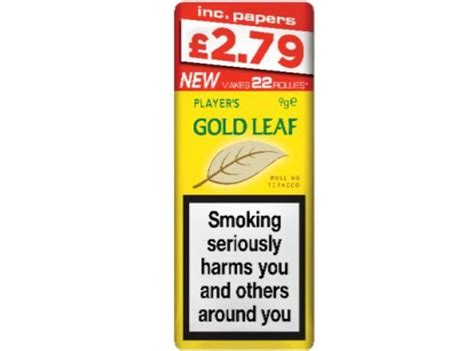 Imperial Tobacco unveils new 9g packs of Gold Leaf