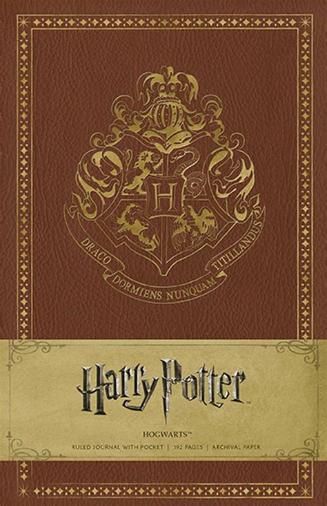Harry Potter Hogwarts Hardcover Ruled Journal   Book by