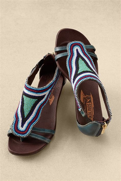 Pikolinos Alcudia Sandals | Beaded sandals, Shoes, Summer