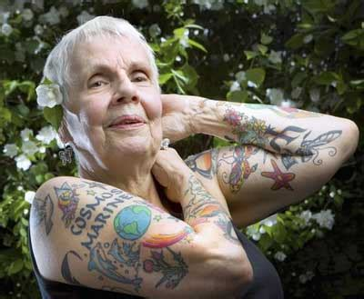 Old People with Tattoos: Do Tattoos Still Look Cool as We Age?