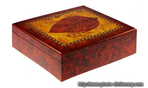 cigar humidor - photo/picture definition at Photo