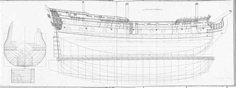 'Unknown' Spanish 4th rate, 50 guns (With plans) - Ships