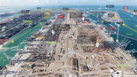The Largest Port in Europe Enlists Location Technology to