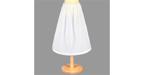 LUC8  Child's Underskirt with One Hoop