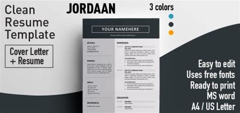 Free Resume Templates With Colored Header | Rezumeet
