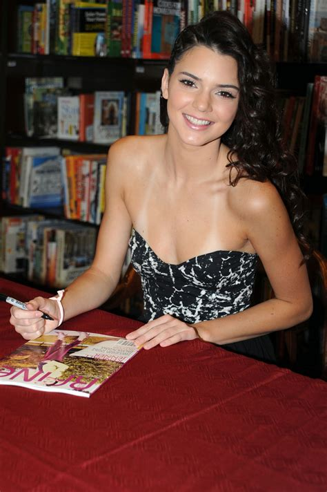 KENDALL JENNER at RAINE Magazine Signing at Barnes and