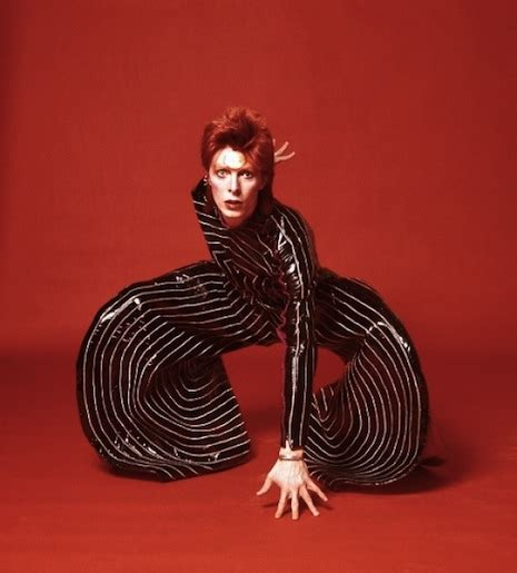 Kansai Yamamoto's fantastic outfits for David Bowie's