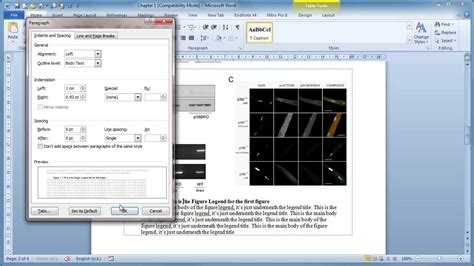 Microsoft Word - Inserting figures and Legends - YouTube