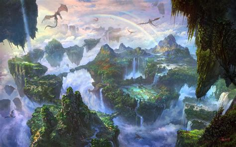 Visit the fascinating fantasy worlds of Li Shuxing - A