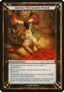 Imprison This Insolent Wretch (Oversized) (Oversize Cards