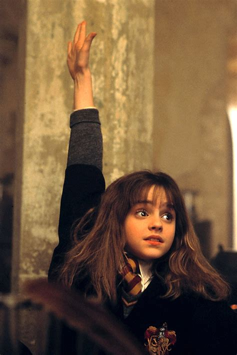 What's Emma Watson's Reaction When She Watches the First