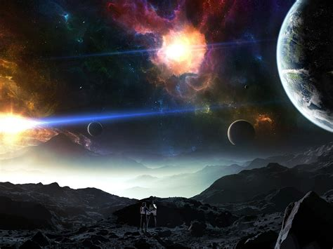 Planets In Space Wallpaper Hd : Wallpapers13