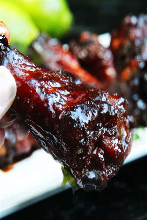 Chinese Wings with Soy Balsamic Glaze