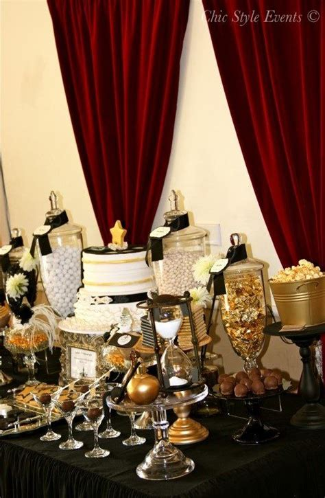 40th Hollywood Glam Party - Birthday Party Ideas & Themes