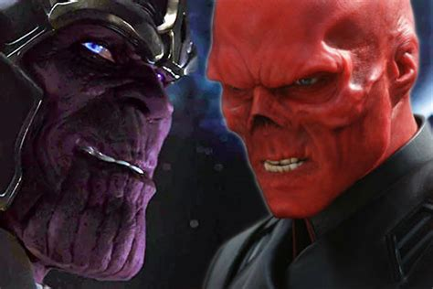 Red Skull Almost Had A Way Different & Scary Look in
