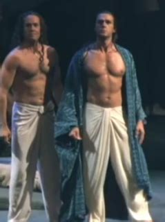 Shirtless Opera Singers: Nathan Gunn in the Pearl Fishers
