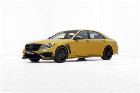 """All about that bling: Brabus Rocket 900 """"Desert Gold"""