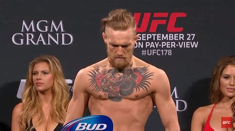 Ranking The Weigh-In Gauntness Of Conor McGregor For His 7