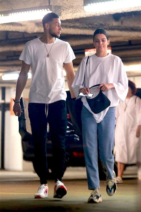 KENDALL JENNER and Ben Simmons Shopping at Barney's New