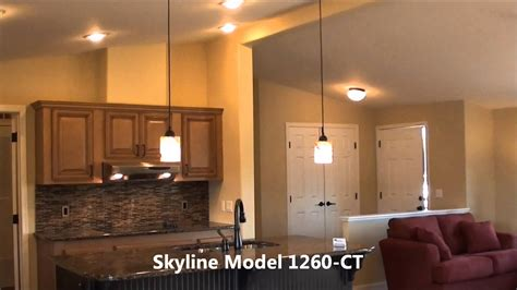 New Oregon Skyline Model 1260CT Manufactured Home for Sale