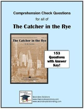 The catcher in the rye literature guide answers